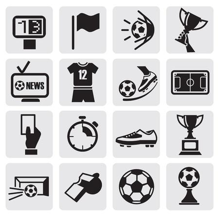 cancha de futbol: Iconos establece F�tbol