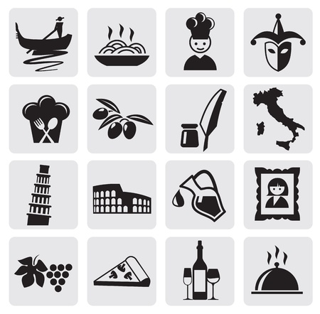 plato pasta: Iconos italianos