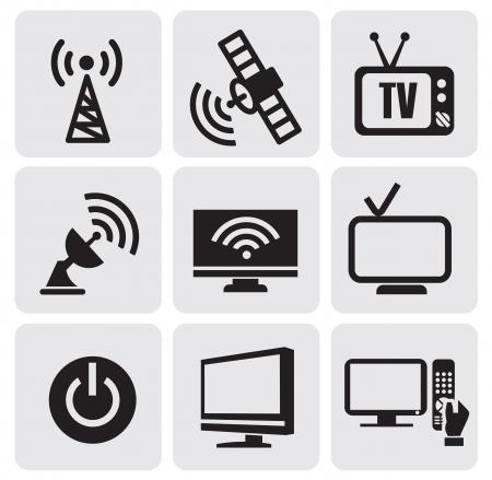tv screens set Stock Vector - 14484508