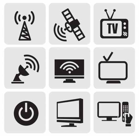 tv screens set Stock Vector - 14484508