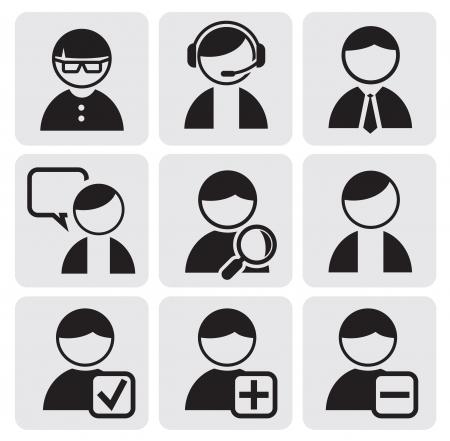 icônes de personnes