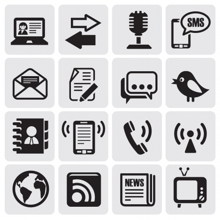 m�dia: conjunto de comunica