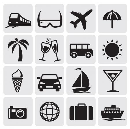 suitcase: Tourism set icins