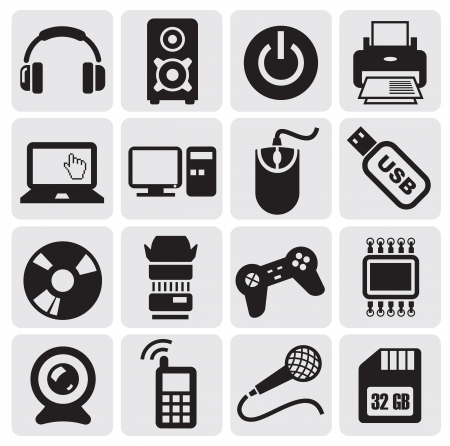 Electrical Icons set Stock Vector - 14538227