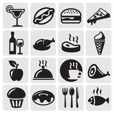 unhealthy food: Food Drink icons