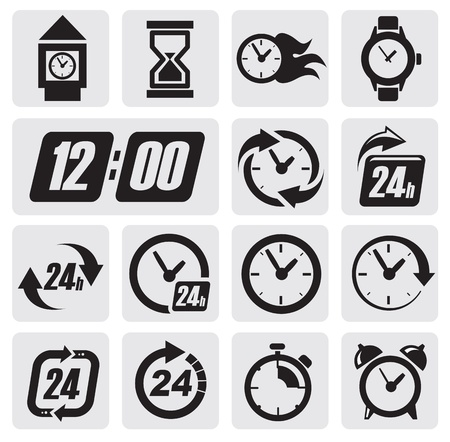 clock: clocks icons