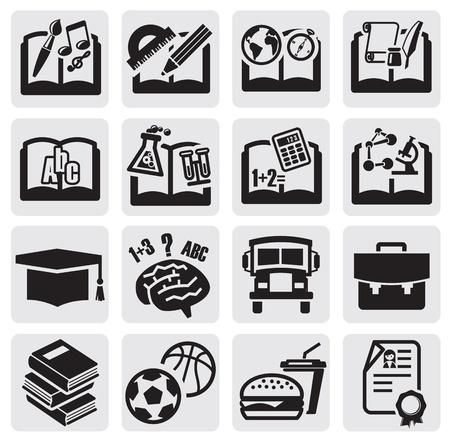 subjects: education set