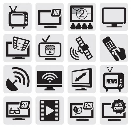 Ensemble technologie de la télévision