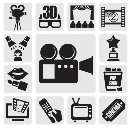 movie set Stock Vector - 14787644