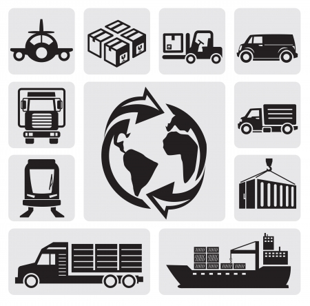 Logistic Stock Vector - 14855804