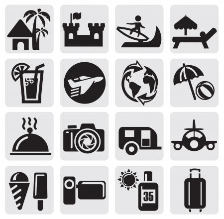 serf: Tourism set icons