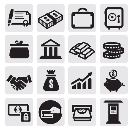 analyse: business financial icons