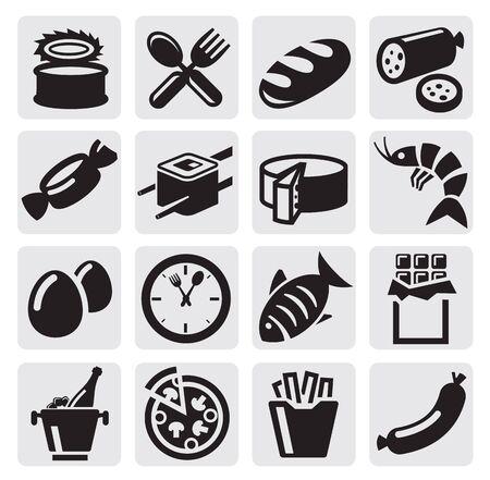 prawn: food icons