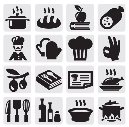 cooking: kitchen icons