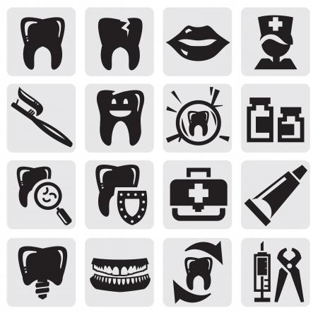 Zahn-Symbol Vektorgrafik