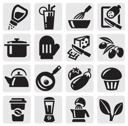 pepe nero: Cucina set