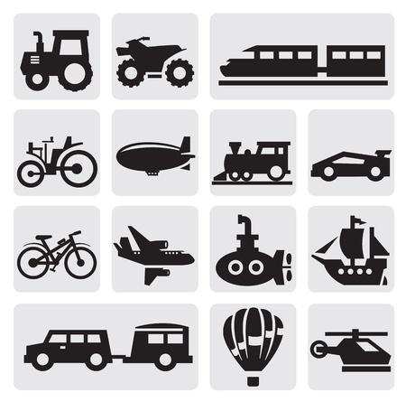 atv: transportation Illustration