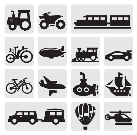 old tractor: vervoer