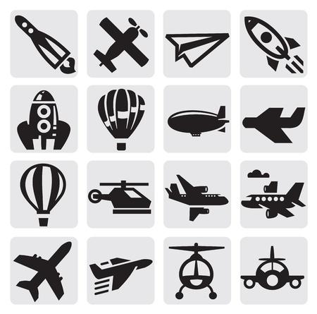 planos electricos: avi�n icono