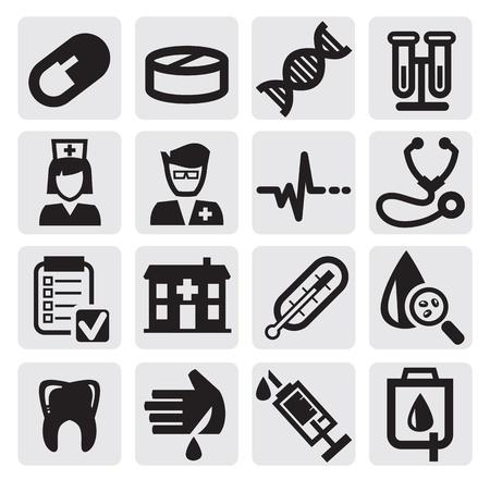 krankenschwester spritze: medizinischen Set