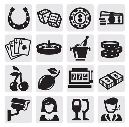 casinos: casino icons