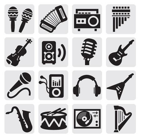 muziekinstrumenten Vector Illustratie