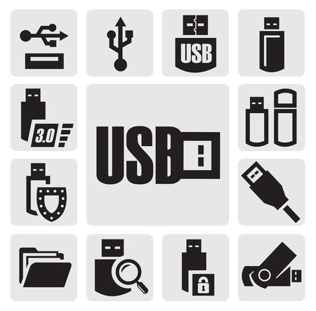 flash drive: usb set