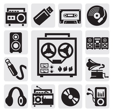 music set Stock Vector - 15088550