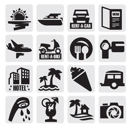 Travel icon Stock Vector - 15088560
