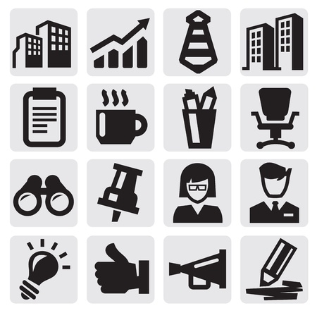 business: office and business icons