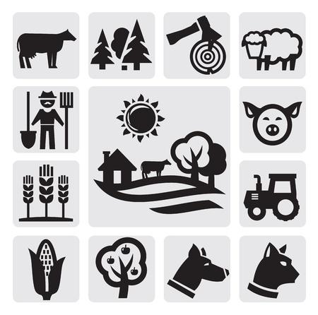 nature icon Stock Vector - 15130878