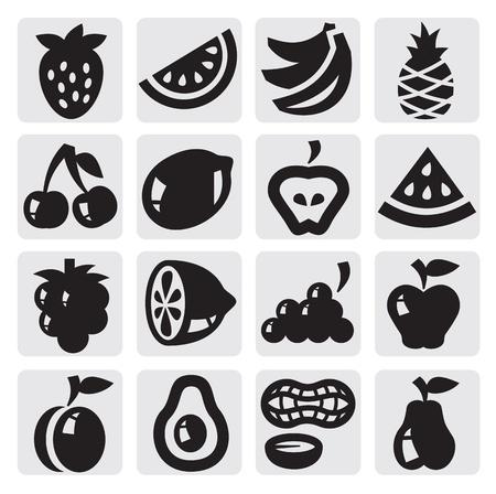 fr�chte in wasser: Obst