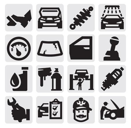 freins: service de voiture Illustration