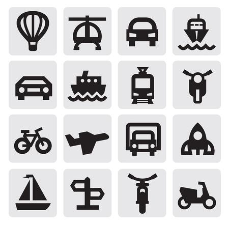 transportation icon Stock Vector - 15299598