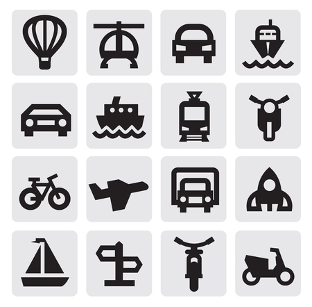 moped: transportation icon