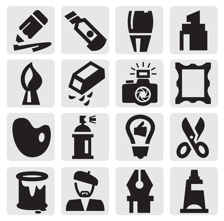 creative icons Vettoriali
