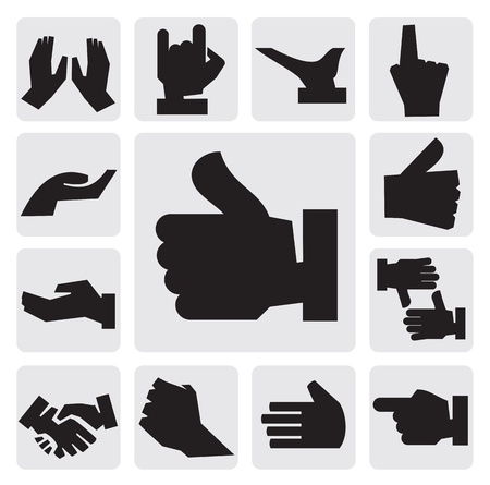 hands icon Vector