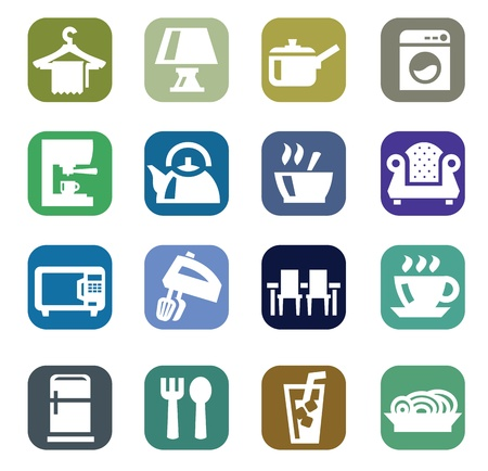 home appliances: home appliances Illustration