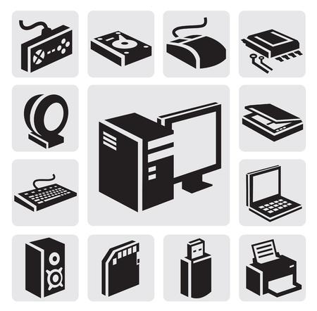 hardware: Icono de ordenador