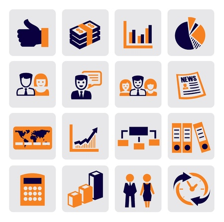 office and business Stock Vector - 15694994