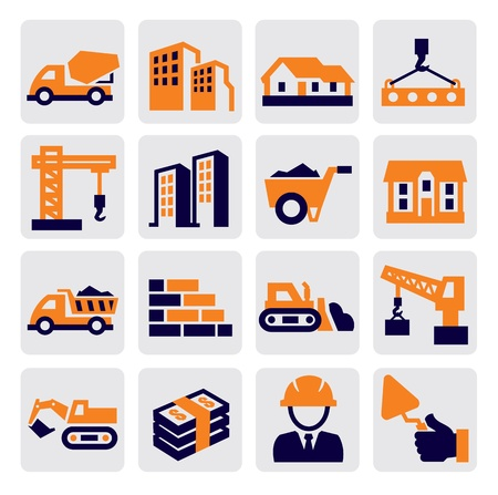 construction Icons Stock Vector - 15694966