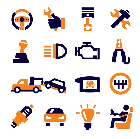 auto and repair Stock Vector - 15694964
