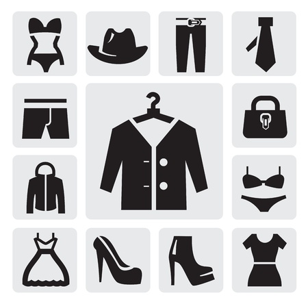 Clothing icon Stock Vector - 15733542