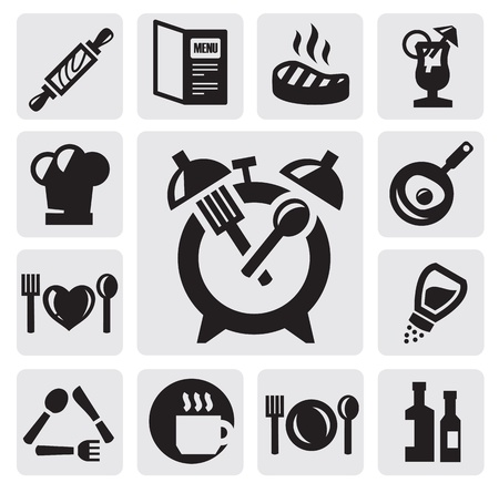 breakfast icon Vector