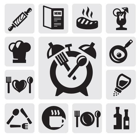 kitchen tools: breakfast icon