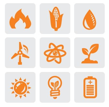 wind turbines: ecology energy icon