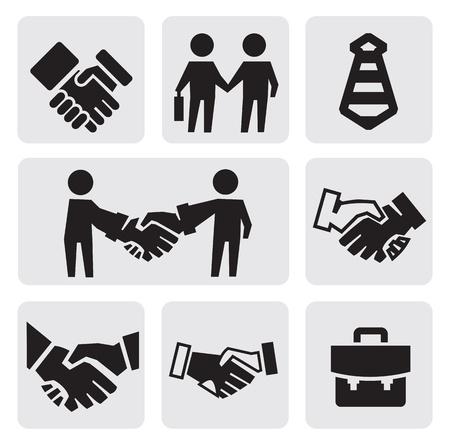 handshake: handshake icons