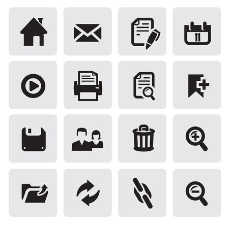 impresora: iconos de la web