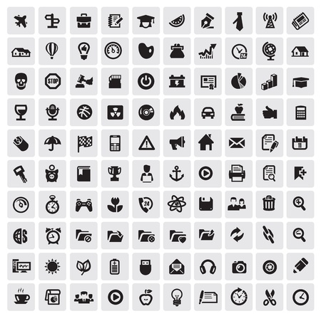 home video camera: 100 web icons