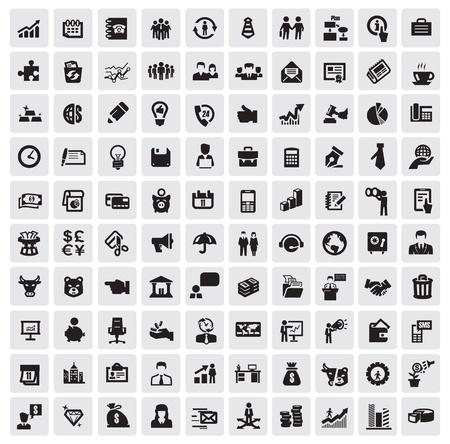 saludo de manos: icono empresarial Vectores